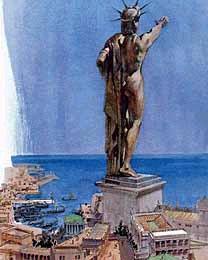 LE COLOSSE DE RHODES  (vers -292) 6è Merveille du Monde Antique Colosse2